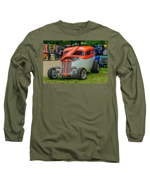 1933 Pontiac Sedan Street Rod Long Sleeve T-Shirt