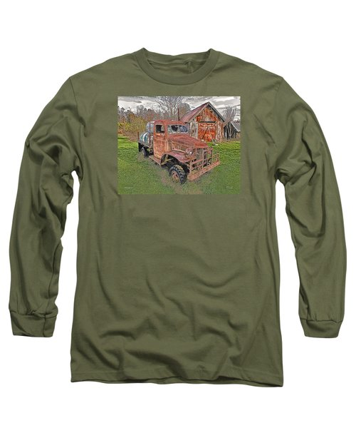 1941 Dodge Truck #2 Long Sleeve T-Shirt