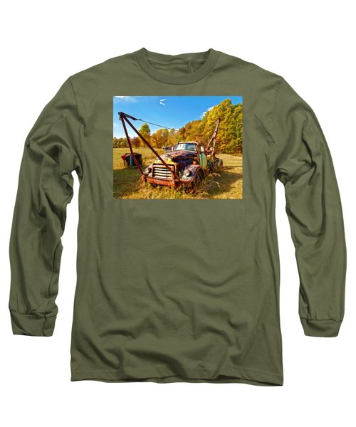 1950 Gmc Truck Long Sleeve T-Shirt