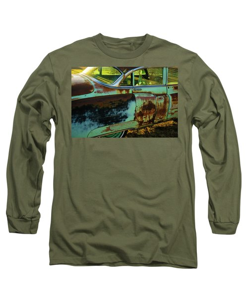 1953 Cadillac Rusting Away Long Sleeve T-Shirt