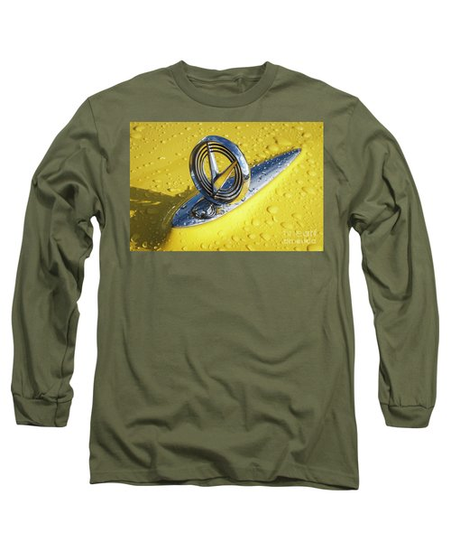 Long Sleeve T-Shirt featuring the photograph 1955 Buick Hood Ornament by Dennis Hedberg