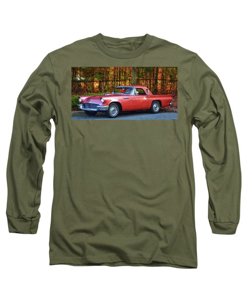1957 Thunderbird  003 Long Sleeve T-Shirt