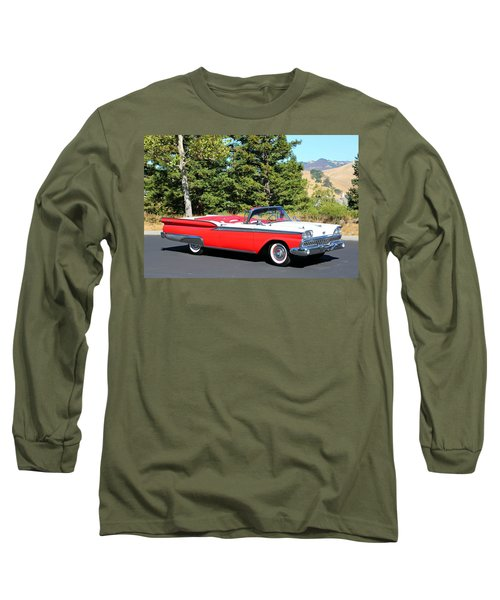 1959 Ford Fairlane 500 Long Sleeve T-Shirt