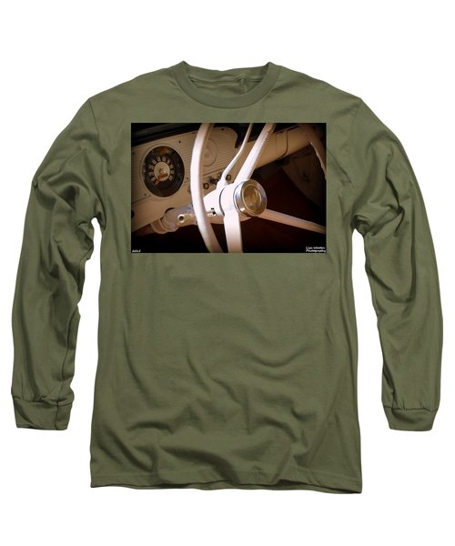 1966 Ford F100 Interior Long Sleeve T-Shirt