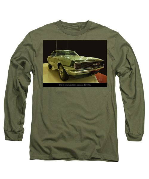 1968 Chevy Camaro Rs-ss Long Sleeve T-Shirt