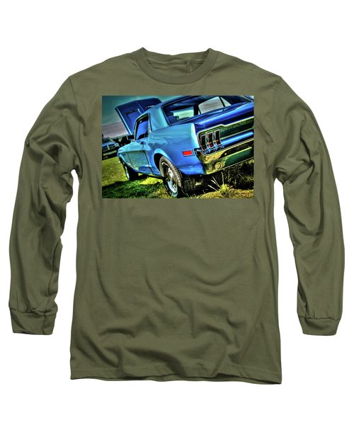 1968 Ford Mustang Long Sleeve T-Shirt