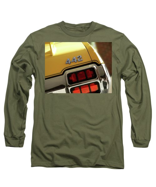 1972 Oldsmobile Cutlass 4-4-2 Long Sleeve T-Shirt