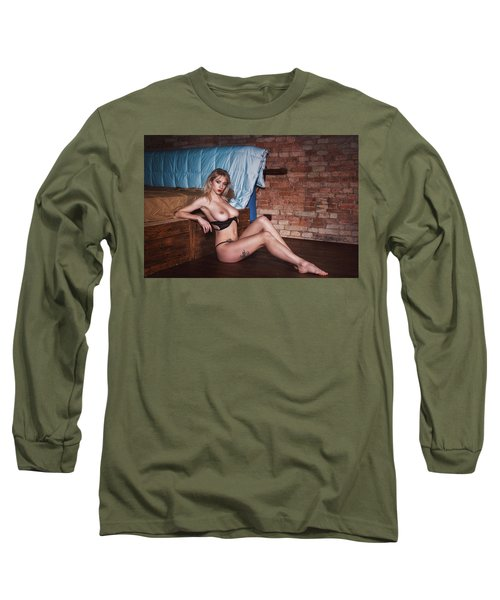 Long Sleeve T-Shirt featuring the photograph 1985 by Traven Milovich
