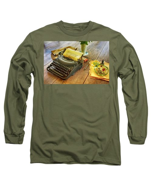 An Author's Tools Long Sleeve T-Shirt by Lynn Palmer