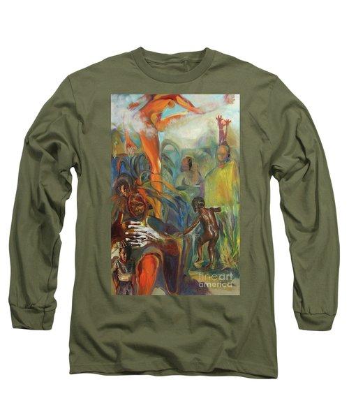 Ancestor Dance Long Sleeve T-Shirt