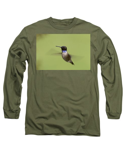 Black-chinned Hummingbird Long Sleeve T-Shirt