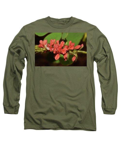 Creeping Indigo - Indigofera Spicata Long Sleeve T-Shirt