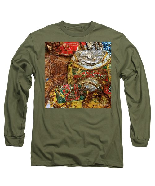 Crushed Beer Cans. Long Sleeve T-Shirt