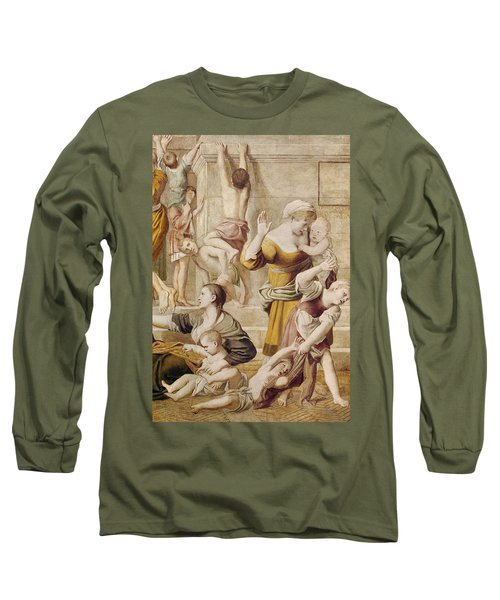 Detail Of Saint Cecilia Distributing Alms Long Sleeve T-Shirt