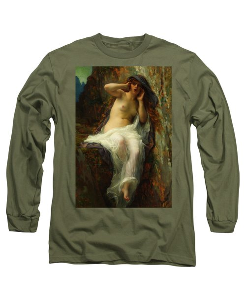 Long Sleeve T-Shirt featuring the painting Echo by Alexandre Cabanel