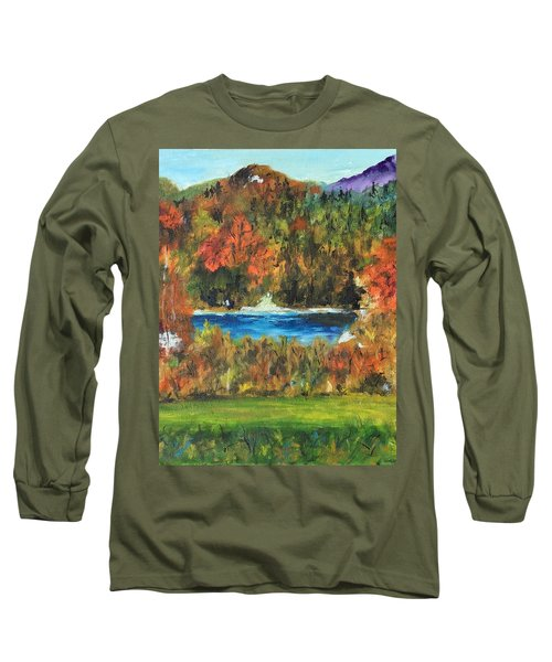 Fall In The Adirondacks Long Sleeve T-Shirt