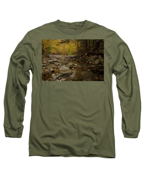 Fall On The Gale River Long Sleeve T-Shirt