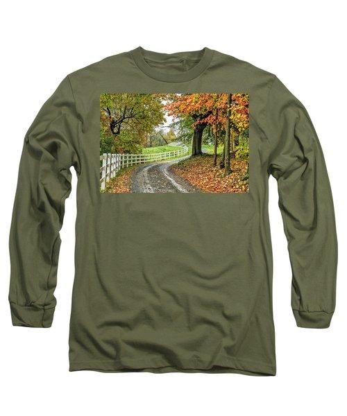 Fence Line Long Sleeve T-Shirt