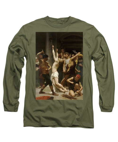 Flagellation Of Christ Long Sleeve T-Shirt