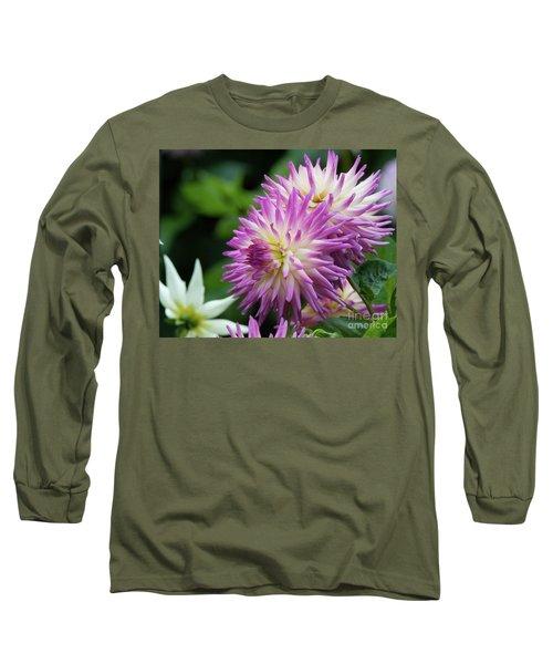 Golden Gate Park Dahlia Long Sleeve T-Shirt
