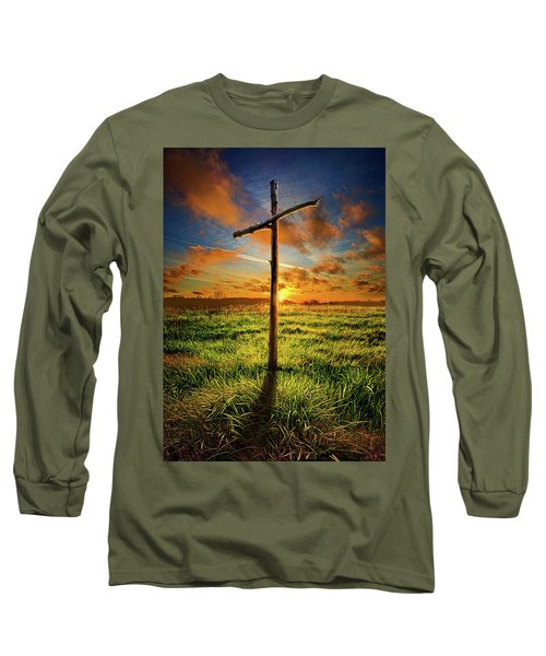 Long Sleeve T-Shirt featuring the photograph Good Friday by Phil Koch