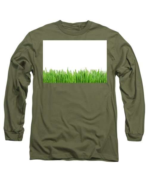 Green Grass Long Sleeve T-Shirt