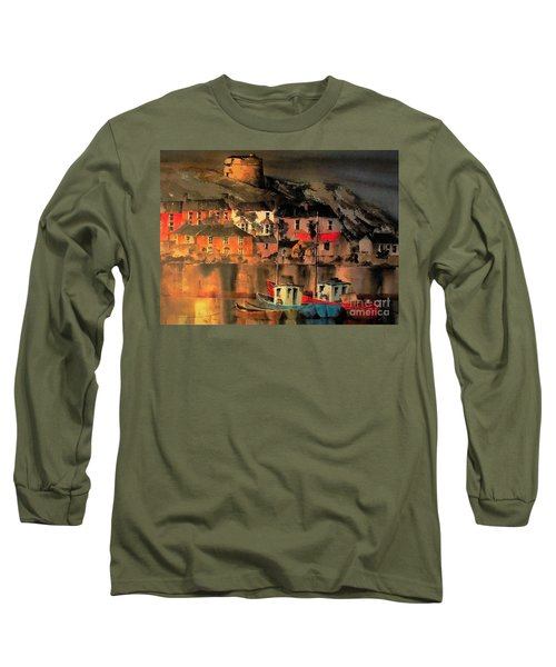 Howth Sunset Dublin Long Sleeve T-Shirt