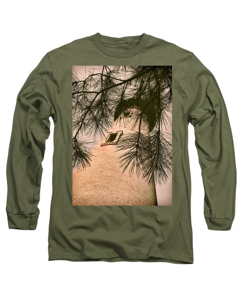 Island Lighthouse Long Sleeve T-Shirt by JAMART Photography