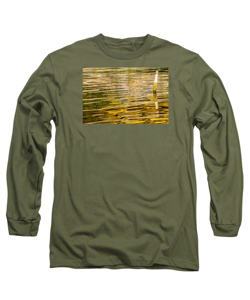 Lake Reflection Long Sleeve T-Shirt by Odon Czintos
