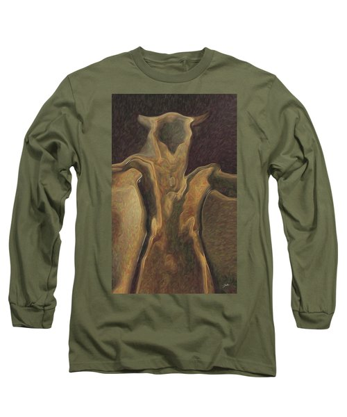 Minotaur  Long Sleeve T-Shirt by Quim Abella