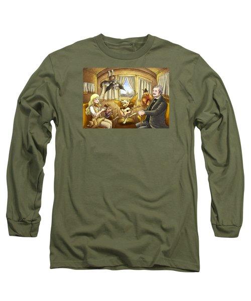 Ned Buntline Long Sleeve T-Shirt