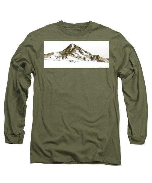 Mt. Hood Long Sleeve T-Shirt by Steve Warnstaff