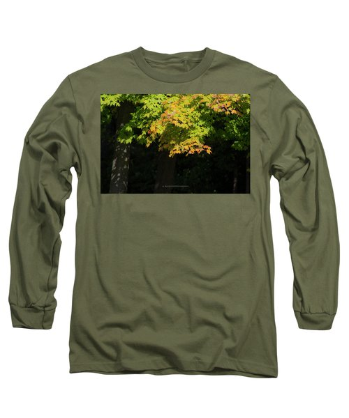 October Colors Long Sleeve T-Shirt
