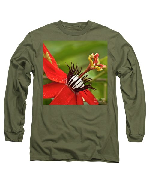 Passionate Flower Long Sleeve T-Shirt