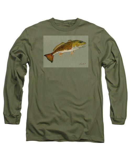 Redfish Painting Long Sleeve T-Shirt