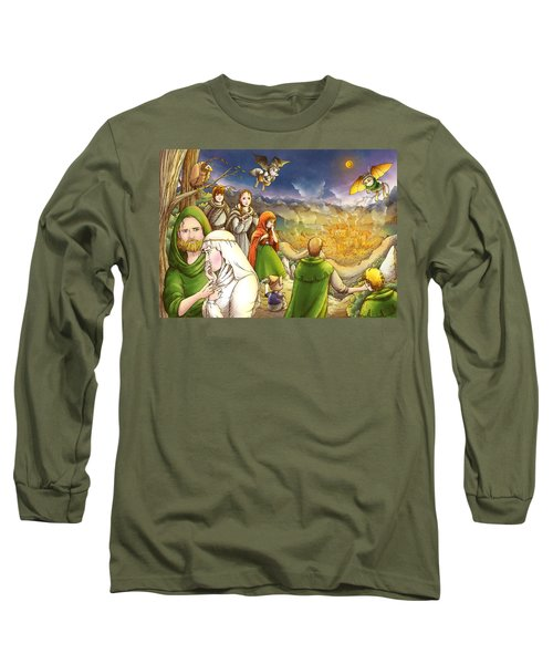 Robin Hood And Matilda Long Sleeve T-Shirt by Reynold Jay