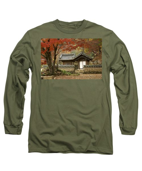 Seonamsa In Autumn Long Sleeve T-Shirt