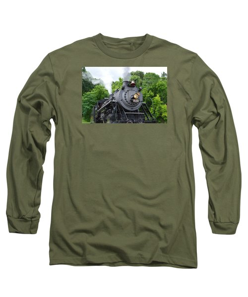 Steam Engline Number 630 Long Sleeve T-Shirt