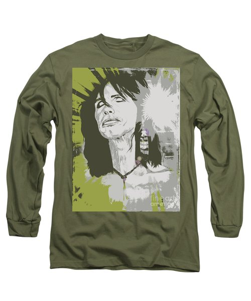 Steven Tyler  Long Sleeve T-Shirt by Jeepee Aero