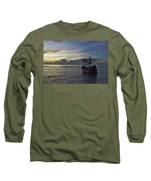 Sunrise On Koh Tao Island In Thailand Long Sleeve T-Shirt