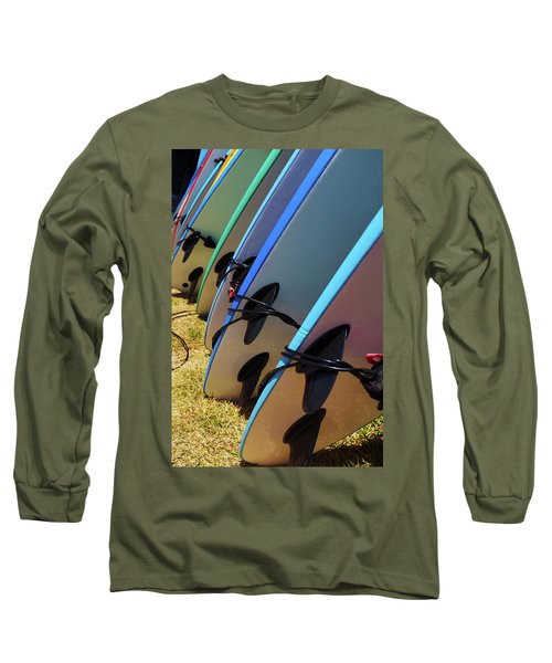 Surf Boards Long Sleeve T-Shirt