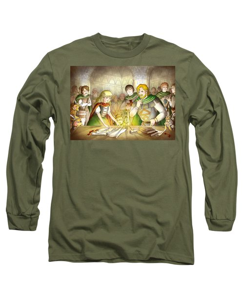 The Articles Of The Barons Long Sleeve T-Shirt by Reynold Jay