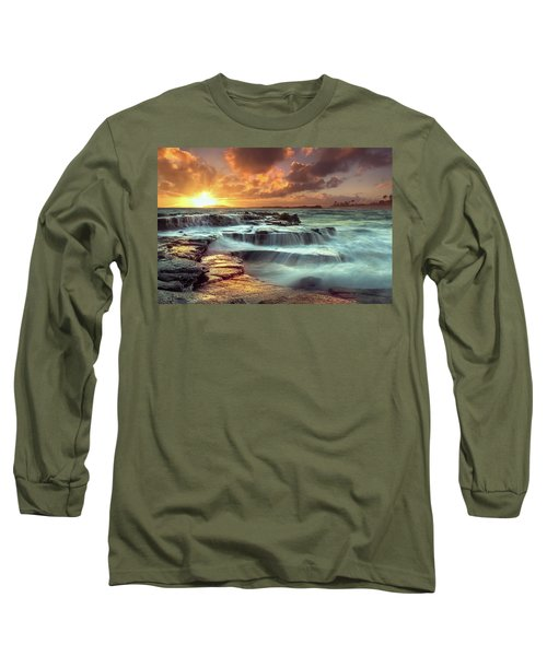 The Golden Hour Long Sleeve T-Shirt by James Roemmling