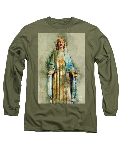 The Virgin Mary Long Sleeve T-Shirt