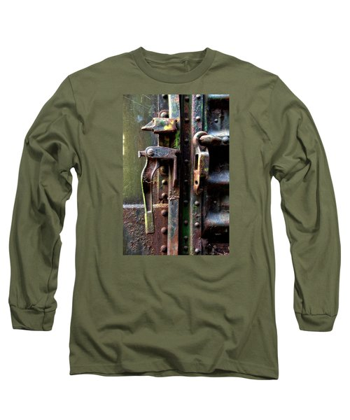 Unhinged Long Sleeve T-Shirt by Newel Hunter