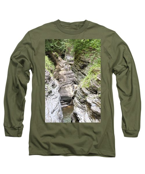 Watkins Glen New York Long Sleeve T-Shirt