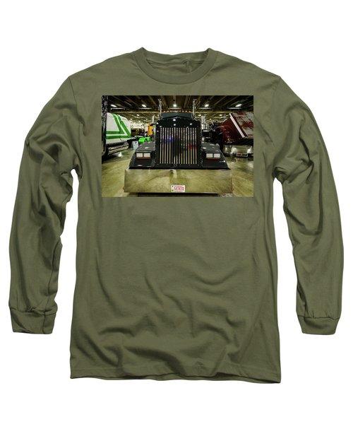 2000 Kenworth W900 Long Sleeve T-Shirt by Randy Scherkenbach
