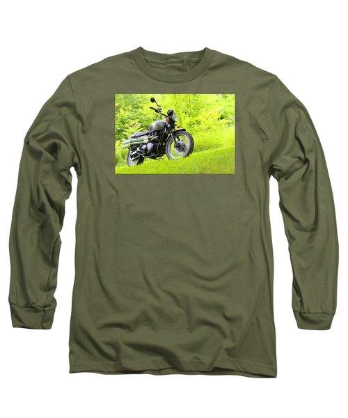 2013 Triumph Scrambler Long Sleeve T-Shirt