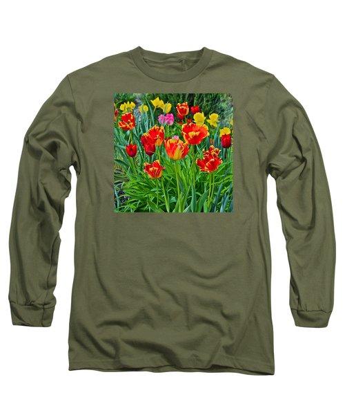 2015 Acewood Tulips 6 Long Sleeve T-Shirt