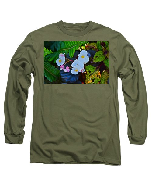 2015 Early September At The Garden Begonias Long Sleeve T-Shirt